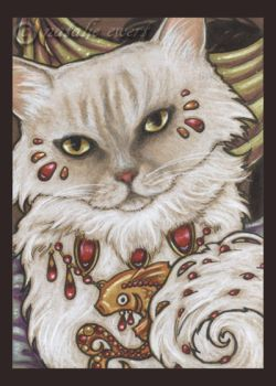 Bejeweled Cat 35 by natamon