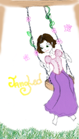 Rapunzel Swing... by theghostlyartist