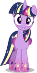 Twilight Sparkle - Rainbowfied from Group Shot by CaliAzian