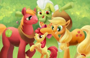 Apple Family!! by amy30535