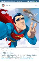 Superman Selfie by universe-K
