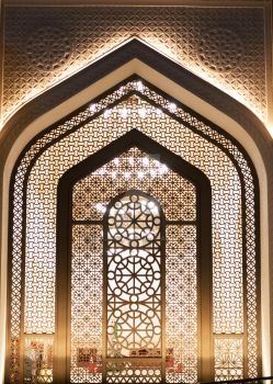 State Mosque of Qatar - Window Structure by alimjshafi