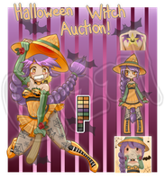Halloween Witch Auction [CLOSED] by MamaGizzy