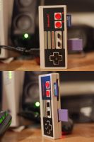 NES Controller Card Reader Mod by PsychoDoughBoy777