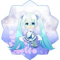 winter miku by CATGIRL0926