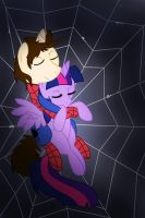 Spiders and Magic: Trapped Within the Web by Jamal2504