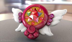 Sailor Moon Moon Chalice 3D by digitalAuge