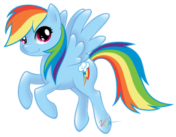 Rainbow Dash is Cool by Vellvette