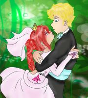 You may kiss the bride.:wedding:. by SailorSun18