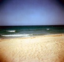 holga beach by herhearts