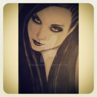 Amy Lee - Evanescence by deadlyevil