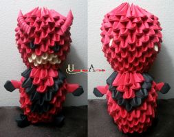 3D Origami - Giant-Man by Jobe3DO
