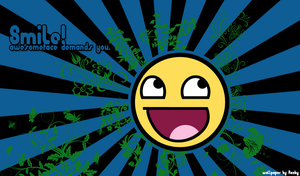 Awesomeface Wallpaper by Raxby