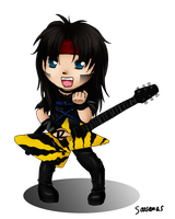 Mick Mars Chibi 2 by SavanasArt