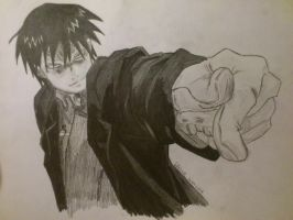 Roy Mustang by Codaline11