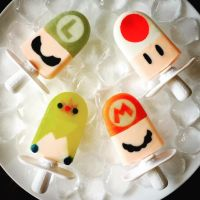 Super Mario Bros Popsicles by Kalan