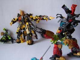 Steelax Master of Weapons (my Self-MOC) 16 by SteelJack7707