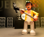 Freddie Mercury Mini-figure. by APlaceForStuff