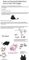 HTTYD: Toothless Notes by Pandadrake