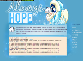 Always hope custom layout by maddieover