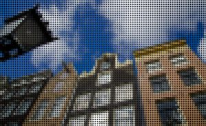 Amsterdam Pointillism by TacoApple99