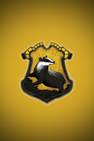 Hufflepuff iPhone wallpaper 1 by technoKyle
