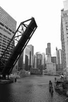 Chicago River by numberoneblind