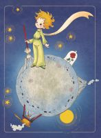 Le Petit Prince_ tribute by blackBanshee80