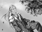Fastidious Sephiroth by Lillius-Macrin
