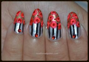 Hand Painted Nail Art by Gorgeousnails