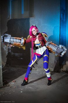 Here comes Vi by The-Kirana