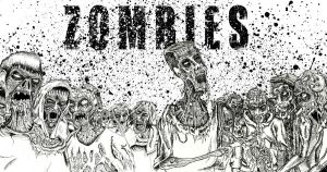 ZOMBIES landscape by ayillustrations