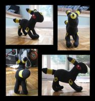 Umbreon Plush - Contest Entry by PokemonMasta