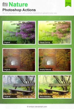 Nature Photoshop Actions by Wnison