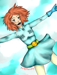 [AT] Nausicaa is free falling by Phoenix2Fly