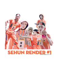 Sehun Render #1 by Eunnie-Baby