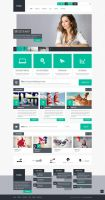 Felius - Multipurpose PSD Template by DarkStaLkeRR