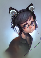 Quadraphonic Headphones by puinkey