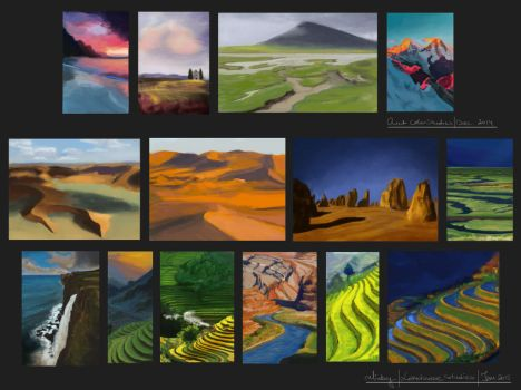 10-day challenge: Landscapes by ralidraws