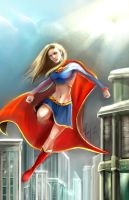 supergirl by calisto-lynn