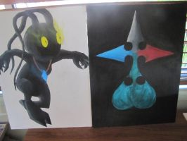 My Paintings by Dragon-Thane
