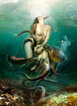 Miss Macaroni ride octopus by ESLB and malleni 1 by FueledbypartII