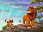 Everything the light touches is our kingdom by Fur-kotka