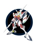 Tekkaman Blade - Crayonified by ShaunWard