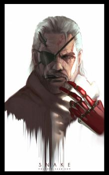 snake sketch by TheFearMaster