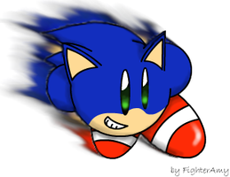 Sonic Kirby by FighterAmy