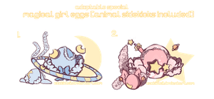 [closed] Magical girl adoptables [/w Sidekicks!] by jellyflavoured