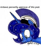 Artemis Approves by newyorkx3