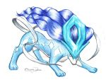 Colored Suicune by ErnestoVladimir