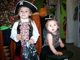 Eowyn and Mia Halloween 2009 by Thora-T
